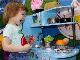 Увлекательный процесс приготовления еды