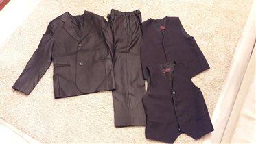костюм-тройка для мальчика (плюс 2-я жилетка)