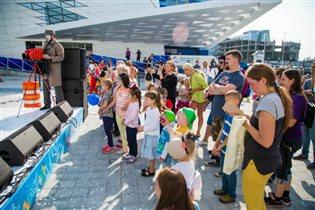 День защиты детей в «Крокус Сити Океанариуме»