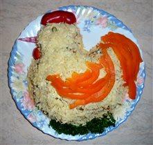 Пасхальный салат