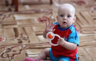 первая любимая игрушка-погремушка