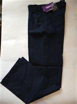 Шк. брюки zeplin р 14 (164) т.синие 600р.