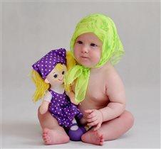 Первая кукла Алёнки