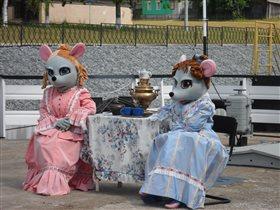 Чаепитие на пристане г.Мышкин