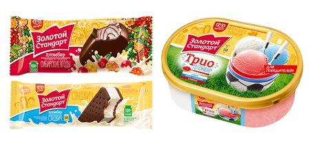 'Золотой Стандарт' выпустил 'сибирское' мороженое со вкусом морошки и брусники и еще 2 новинки