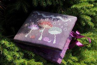 Mushroom Umbrellas - дизайн Евдокии Николаевой