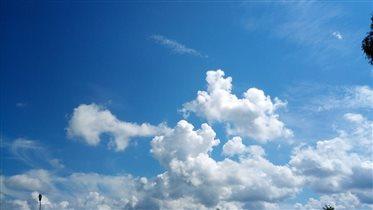Просто облака... и всё равно красиво...