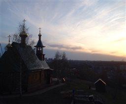 Закат в Нижнем Новгороде