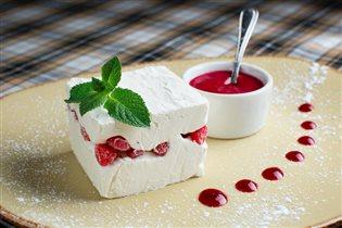 Рецепт мороженого с земляникой