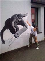 граффити во Флаконе :)