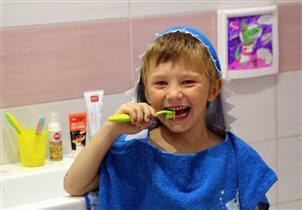 С Хитриком и Кроксей чистить зубки веселей!