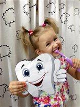 Чистим зубки чисто, чисто!