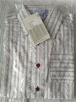 Рубашка белая с рисунком V-day. размер 8 лет, 400