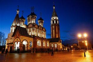 Храм Успения Пресвятой Богородицы в г. Гусев