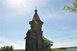 Успенская церковь,Кондопога.Остались только фото:(