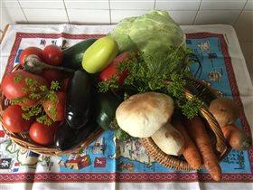 Наш осенний сибирский урожай