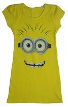 140  желтое платье хлопок 490