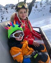 Анна Михайловская: фото с сыном-ёжиком и скучная жизнь бывшего мужа