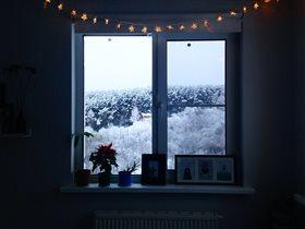 Окно в зимнюю сказку