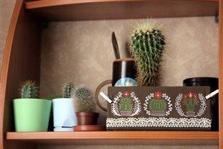 Новогодние кактусики - Owlforest Embroidery