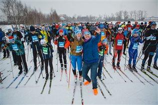 Благотворительная лыжня 6250  - становись на лыжи ради жизни!