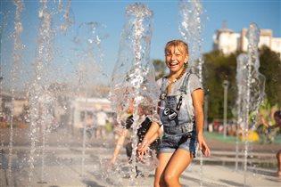 Веселый фонтан