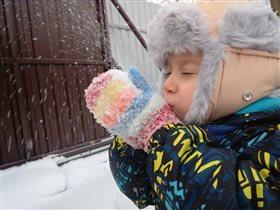 Счастье от зимних прогулок!