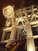 Лестница в шахтах в Величке (Польша)
