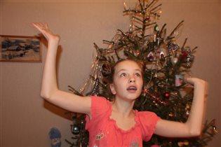 Новогодне-подростковое настроение ......