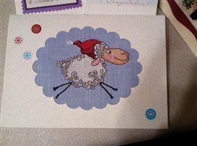 Новогодняя овечка от Lady (Украина)