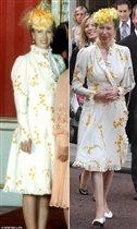 Принцесса Анна платье