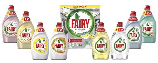 Коллекция средств для ухода за посудой Fairy: какое подойдёт вашей семье?