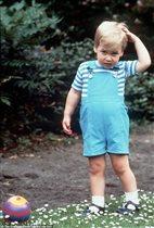 Принц Уильям в детстве