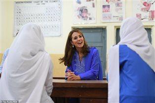 Кейт Миддлтон школа Пакистан