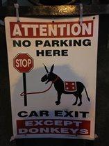Машины заменяют людей, но не осликов!