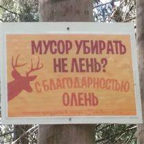 Лесные таблички