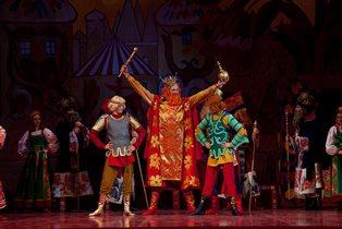 Опера «Золотой петушок» на сцене  Детского музыкального театра имени Наталии Сац