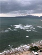 море...тучи...