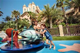 Дубайский отель Atlantis, the Palm - лучшее для отдыха с детьми