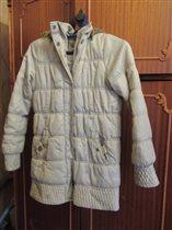 Куртка теплая 10-11лет, 140-145 см.