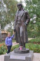 Памятник Сергею Есенину. Константиново