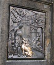 Барельеф в Праге