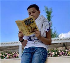 Читаем в перерыве между экскурсиями.