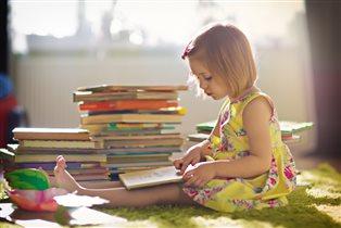 Маленькая читательница