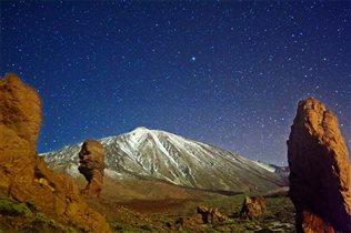 Где на Тенерифе можно наблюдать за звездами