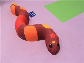 кочка змейка.