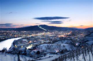 Зимние каникулы в Словении: лыжи и СПА