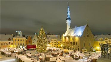 Эстония Таллин рождество