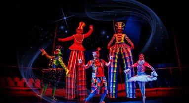 Новый московский цирк  – премьера в парке «Сказка»