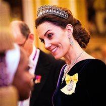 Кейт Миддлтон в тиаре принцессы Дианы: 'Диана бы гордилась невесткой!'
